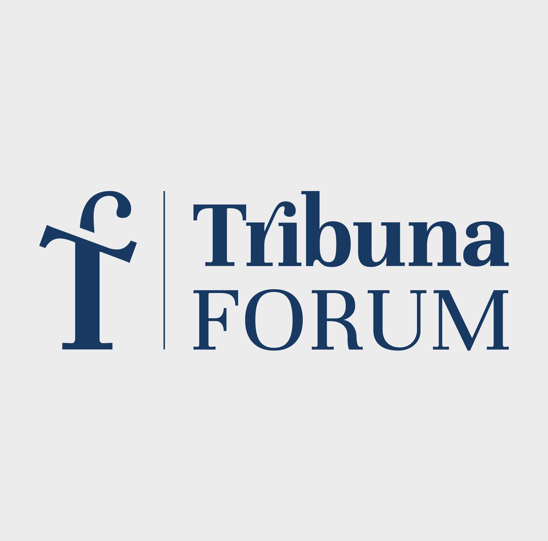 Diseño de logotipo para empresa de conferencias y foros