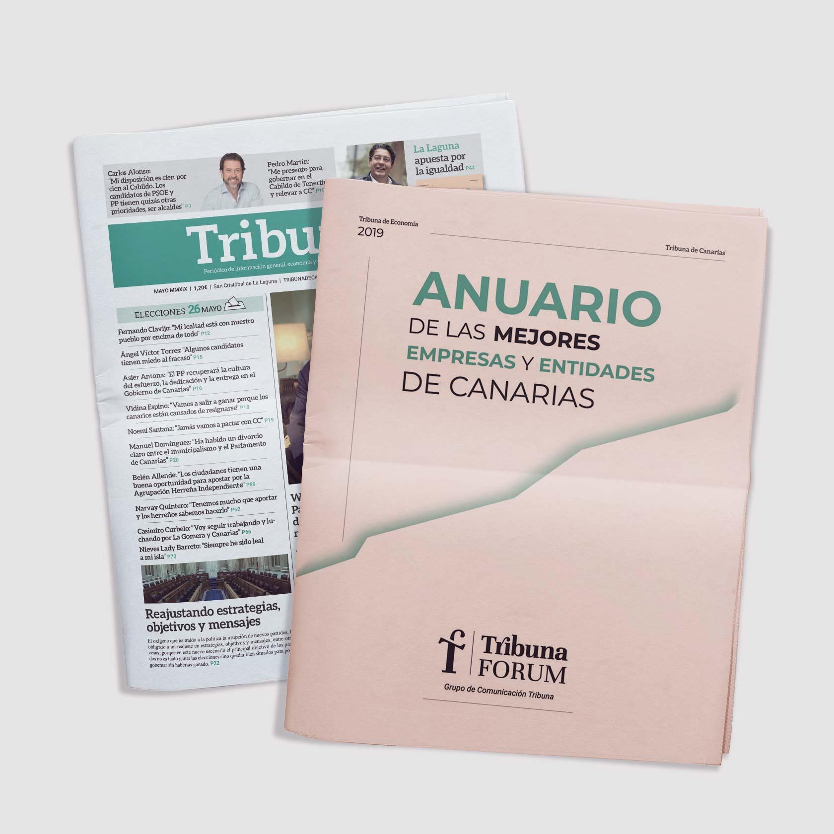 Diseño editorial y maquetación periódico